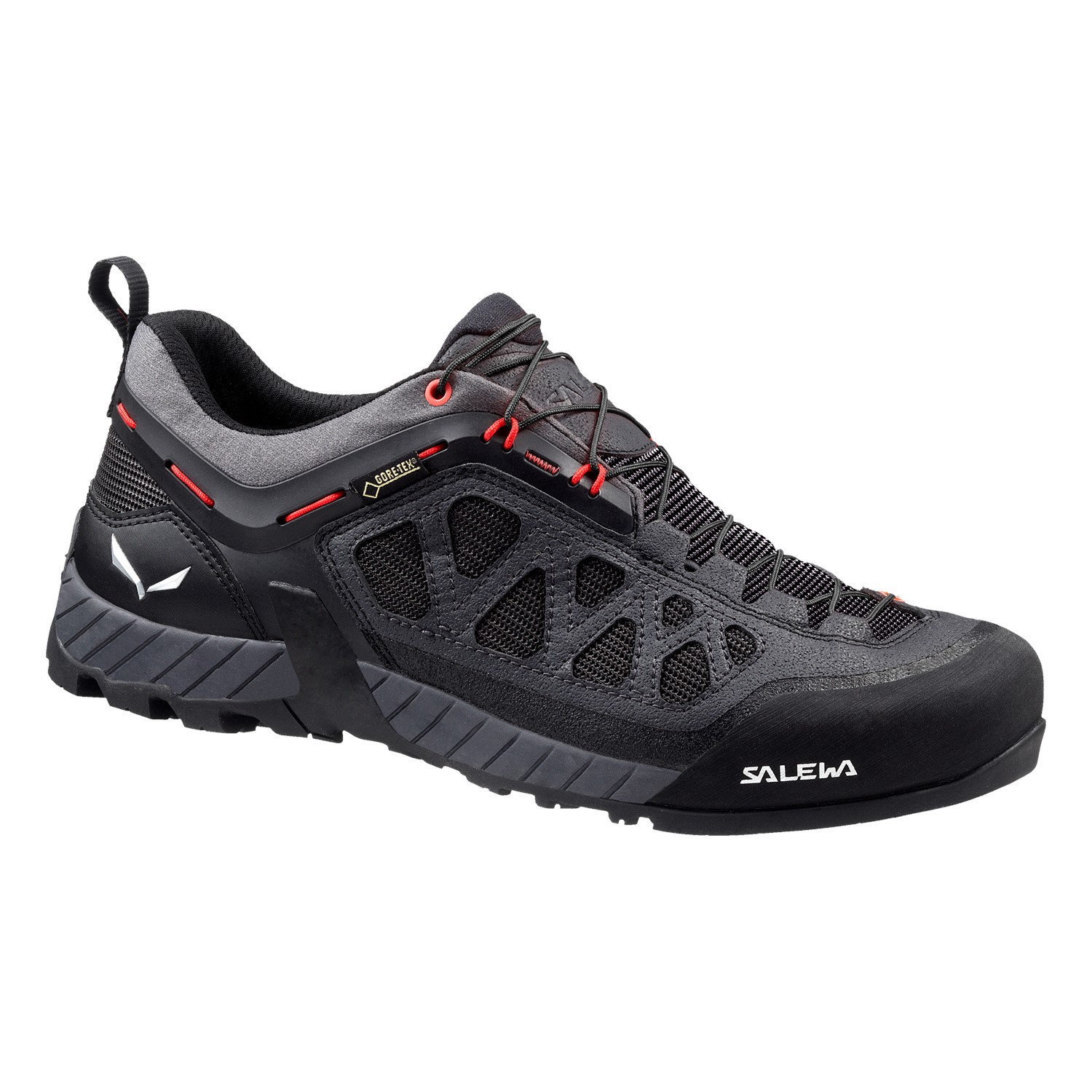 Salewa MS FIRETAIL 3 GTX-Black Out/Papavero-9 - Gr. 9