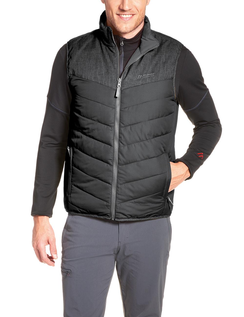 Maier Sports - Gero Vest - He-Weste/Wendew - black - 64