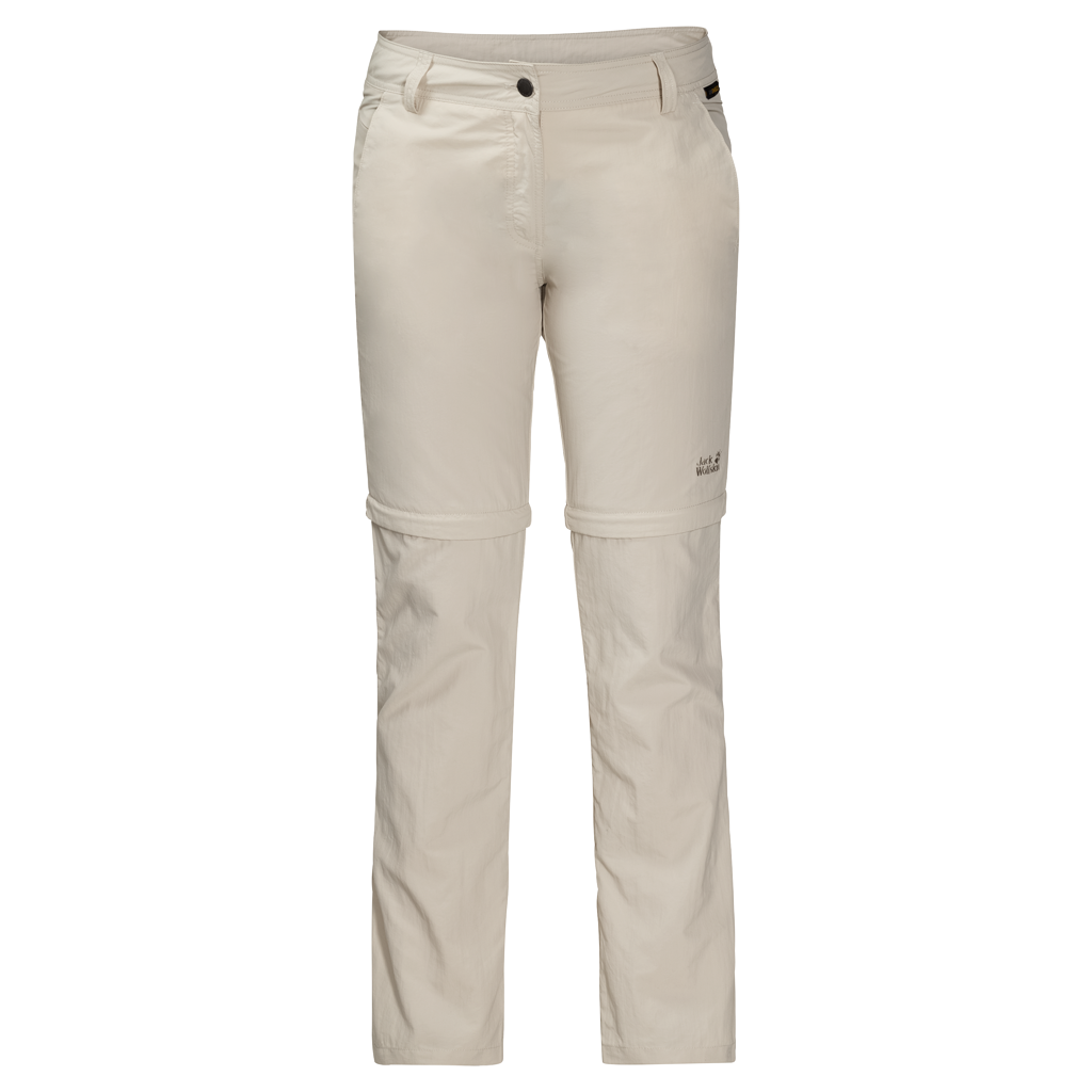 Jack Wolfskin MARRAKECH ZIP OFF PANTS - light sand - 21 1503642-5505