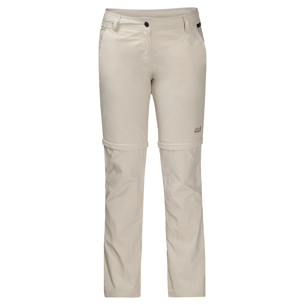 Jack Wolfskin MARRAKECH ZIP OFF PANTS - light sand - 18 1503642-5505