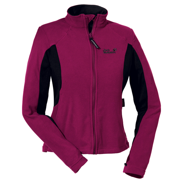 Jack Wolfskin Endurance Full Zip Women - grape red - Gr. XL 1701081-2830005