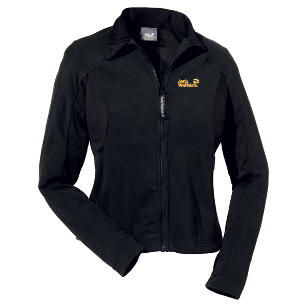 Jack Wolfskin Endurance Full Zip Women - black - Gr. L 1701081-6000004
