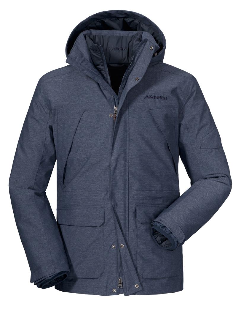 Schöffel 3in1 Jacket Cusco2 - navy blazer, 54 - Navy Blazer