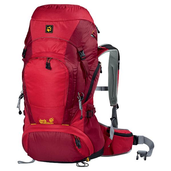 Jack Wolfskin Highland Trail 46 Women - clear red