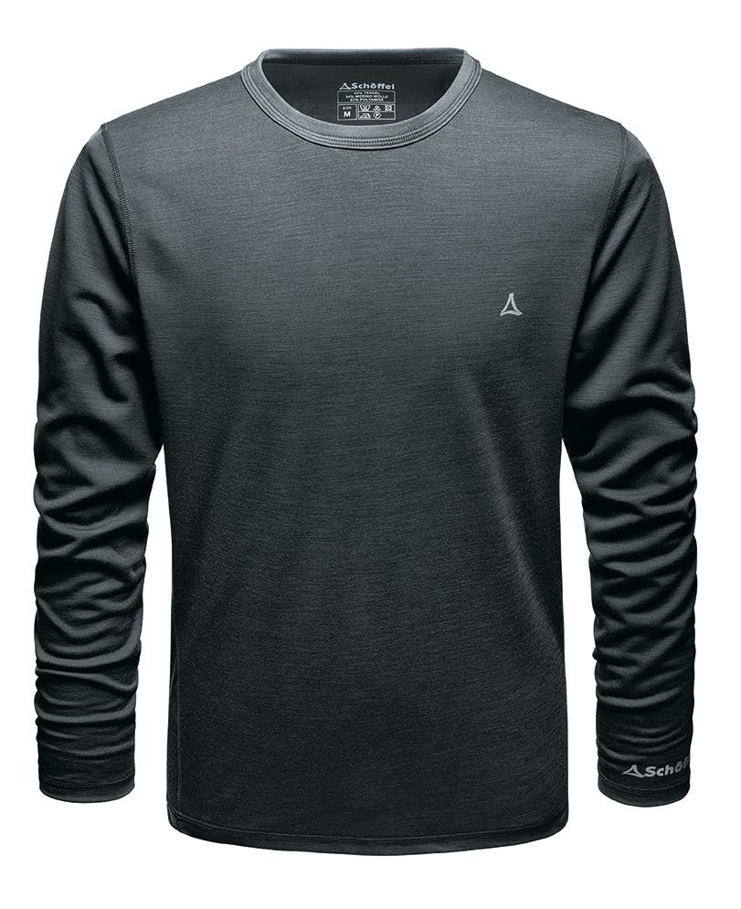Schöffel Merino Sport Shirt 1/1 Arm M - pirate black, XL - PIRATE BLACK SCH-21431-8945-g