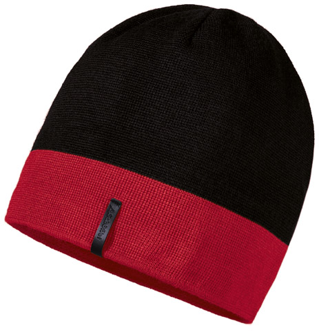 Schöffel Knitted Hat Schattwald - high risk red, E - High Risk Red SCH-23085-9000118-g