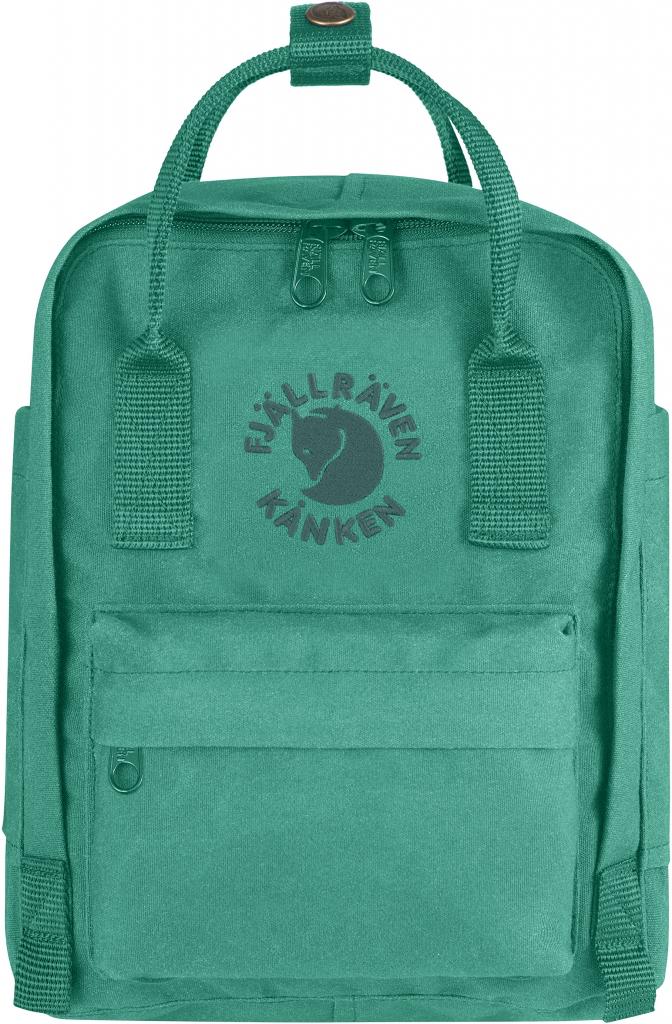 Fjällräven Re-Kånken Mini - Emerald - - emerald - Gr. 1 Size 23549-644