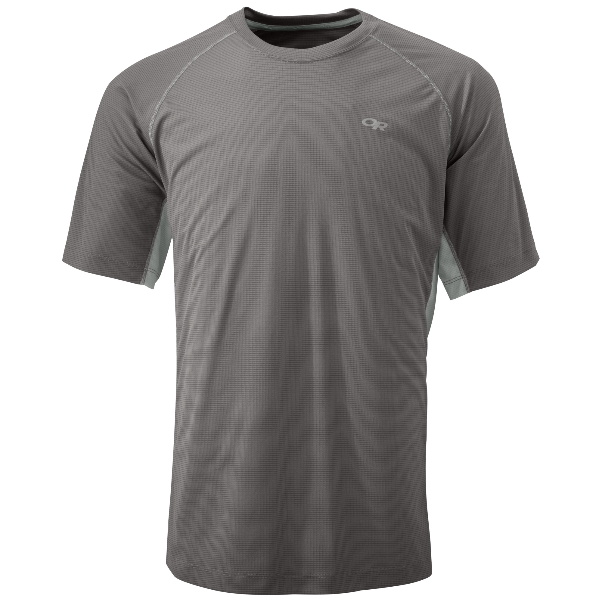 Outdoor Research Men's Echo Duo Tee-pewter/alloy-S - Gr. S