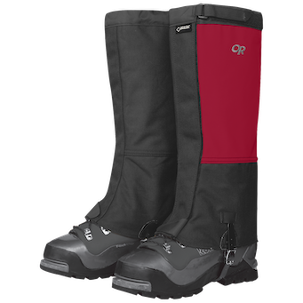 Outdoor Research Men's Expedition Crocodile Gaiters-chili/black-S - Gr. S