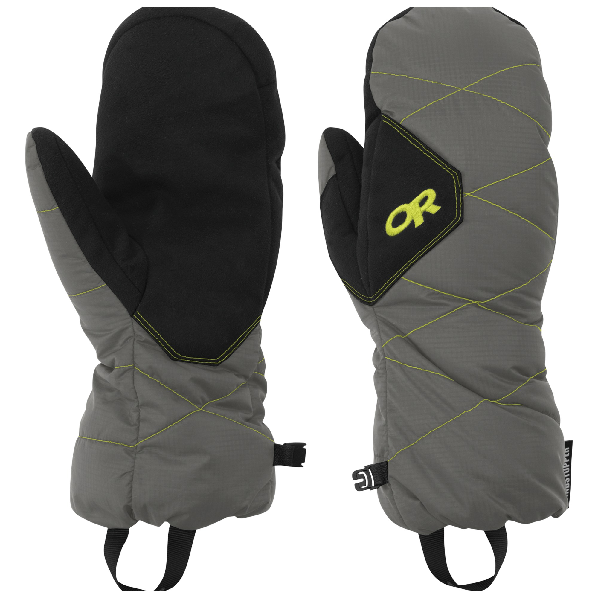 Outdoor Research PhosphOutdoor Research Mitts-pewter/lemongrass-M - Gr. M