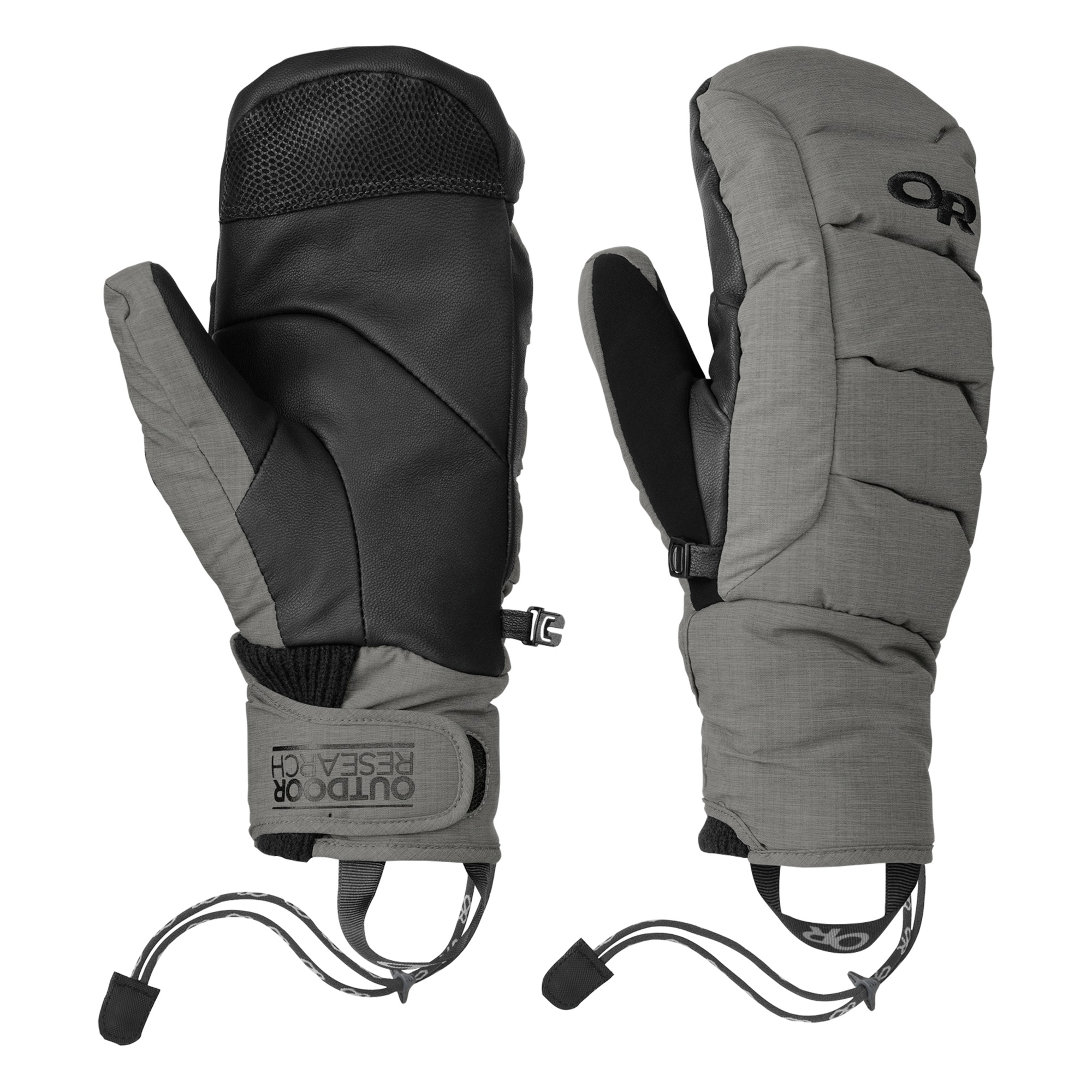 Outdoor Research Stormbound Mitts-pewter-XS - Gr. XS