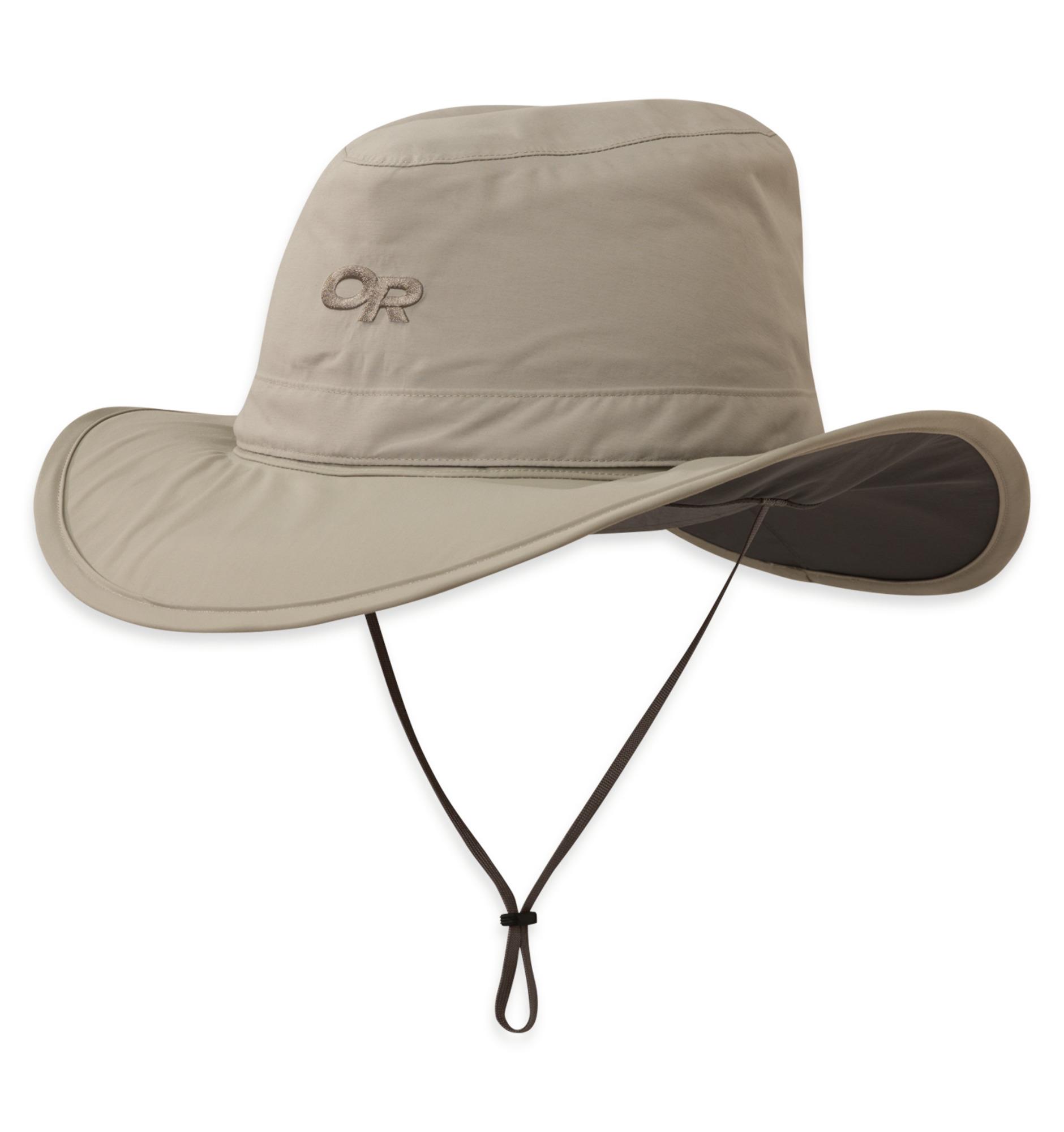 Outdoor Research Ghost Rain Hat-khaki-L - Gr. L