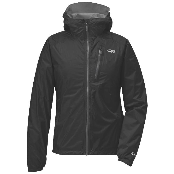 Outdoor Research Women's Helium II Jacket-black/charcoal-M - Gr. M