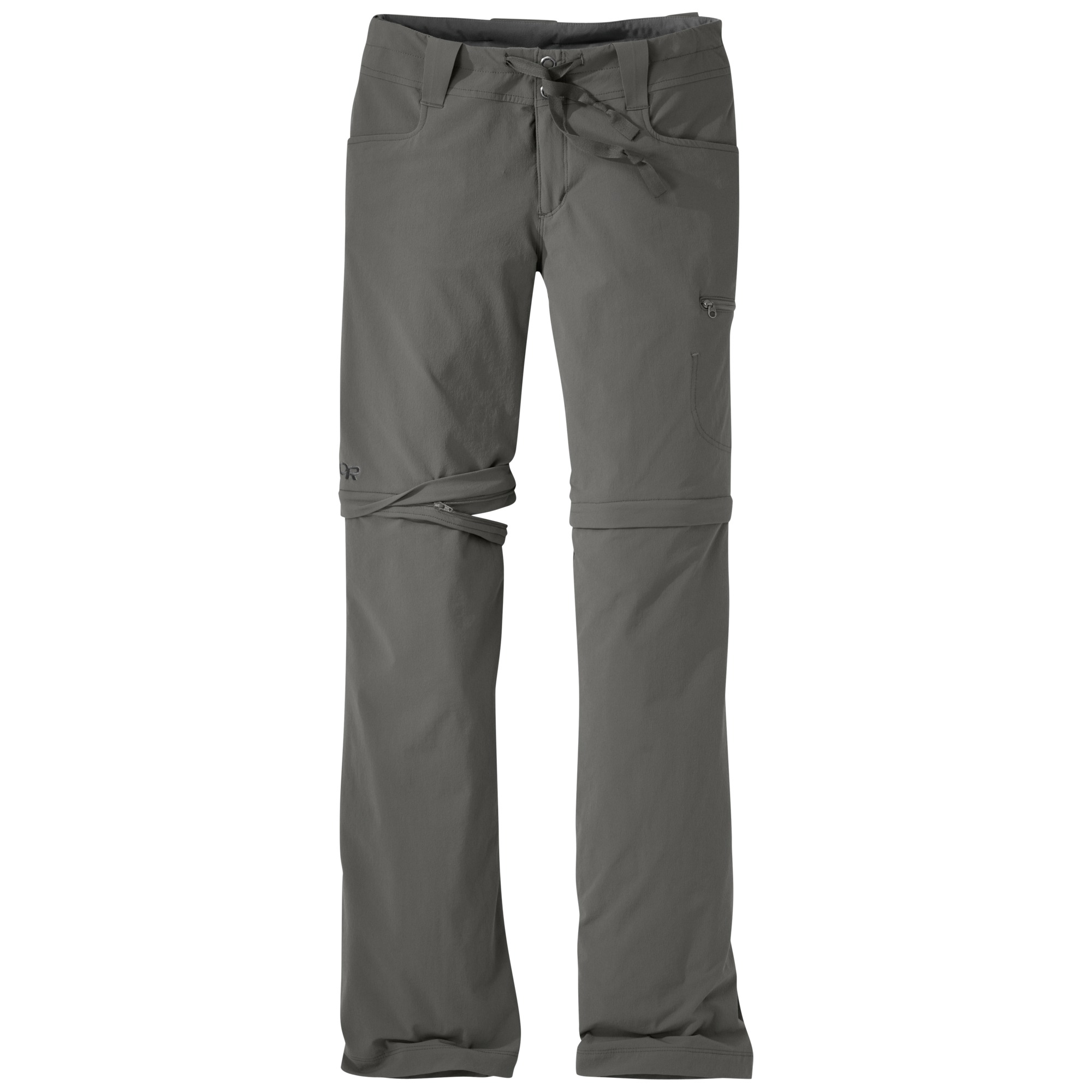 Outdoor Research Women's Ferrosi Convertible Pants-pewter-4 - Gr. 4