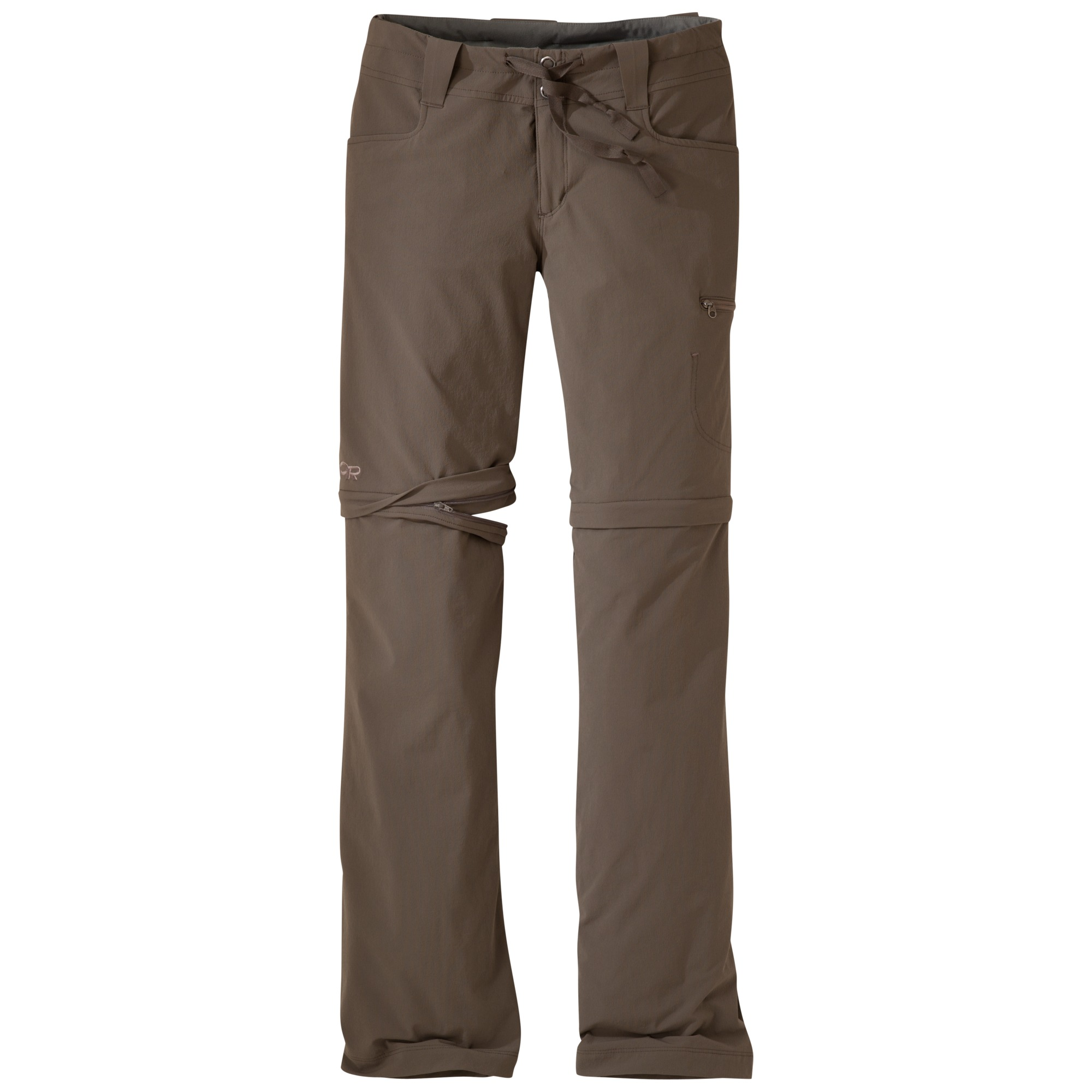 Outdoor Research Women's Ferrosi Convertible Pants-mushroom-4 - Gr. 4