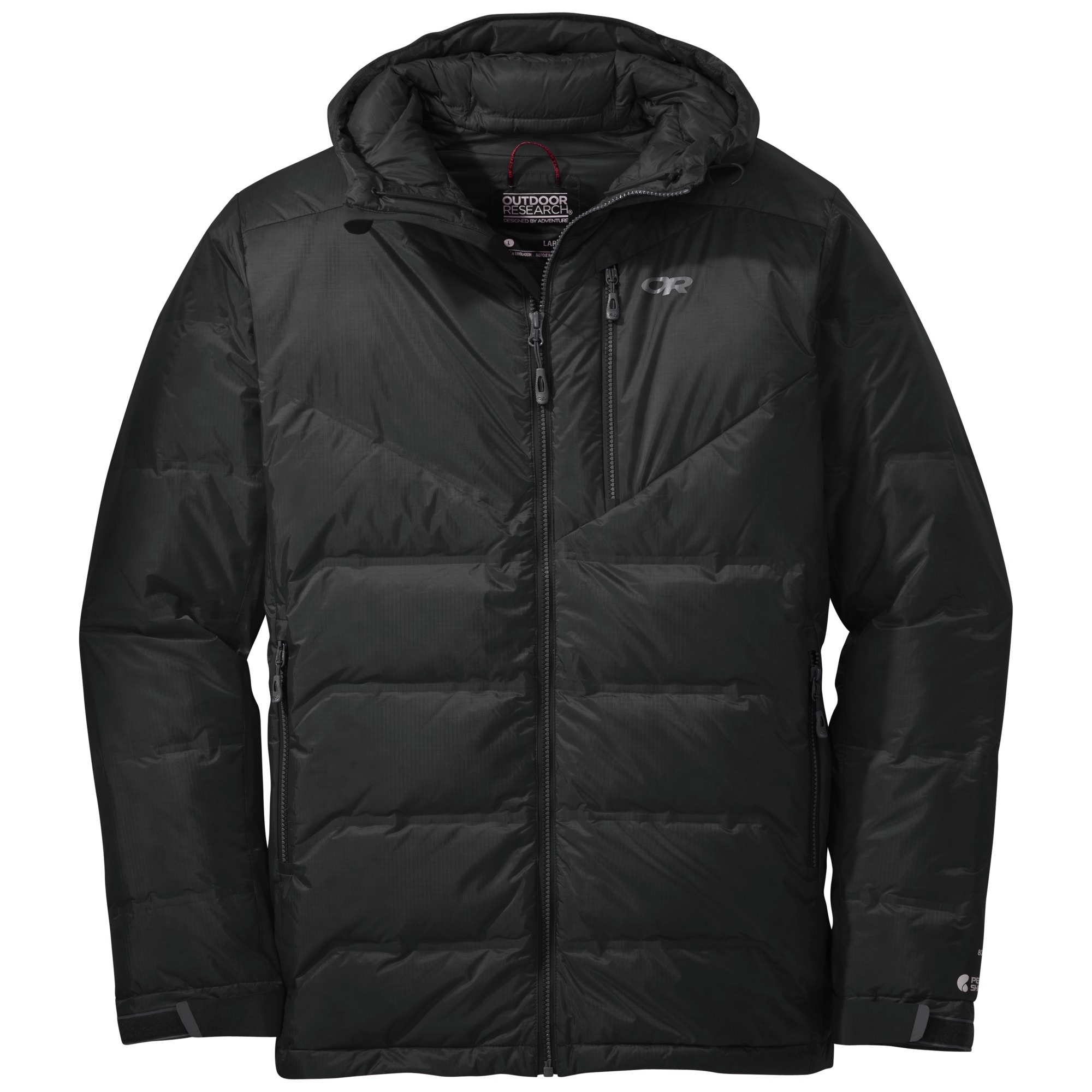 Outdoor Research Men's Floodlight Down Jacket-black-XL - Gr. XL