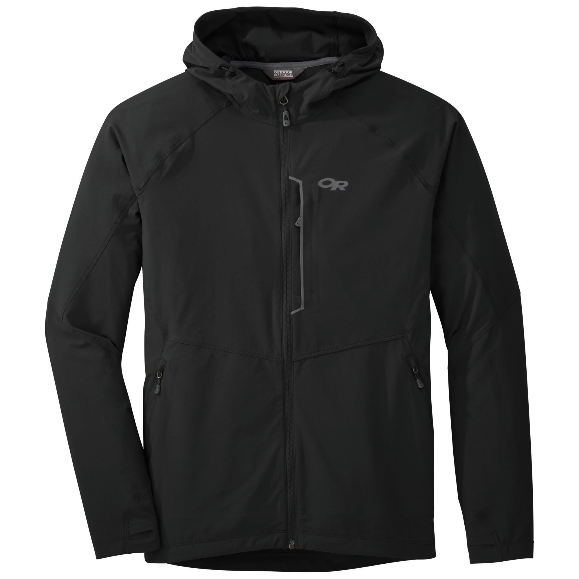 Outdoor Research Men's Ferrosi Hooded Jacket-black-M - Gr. M