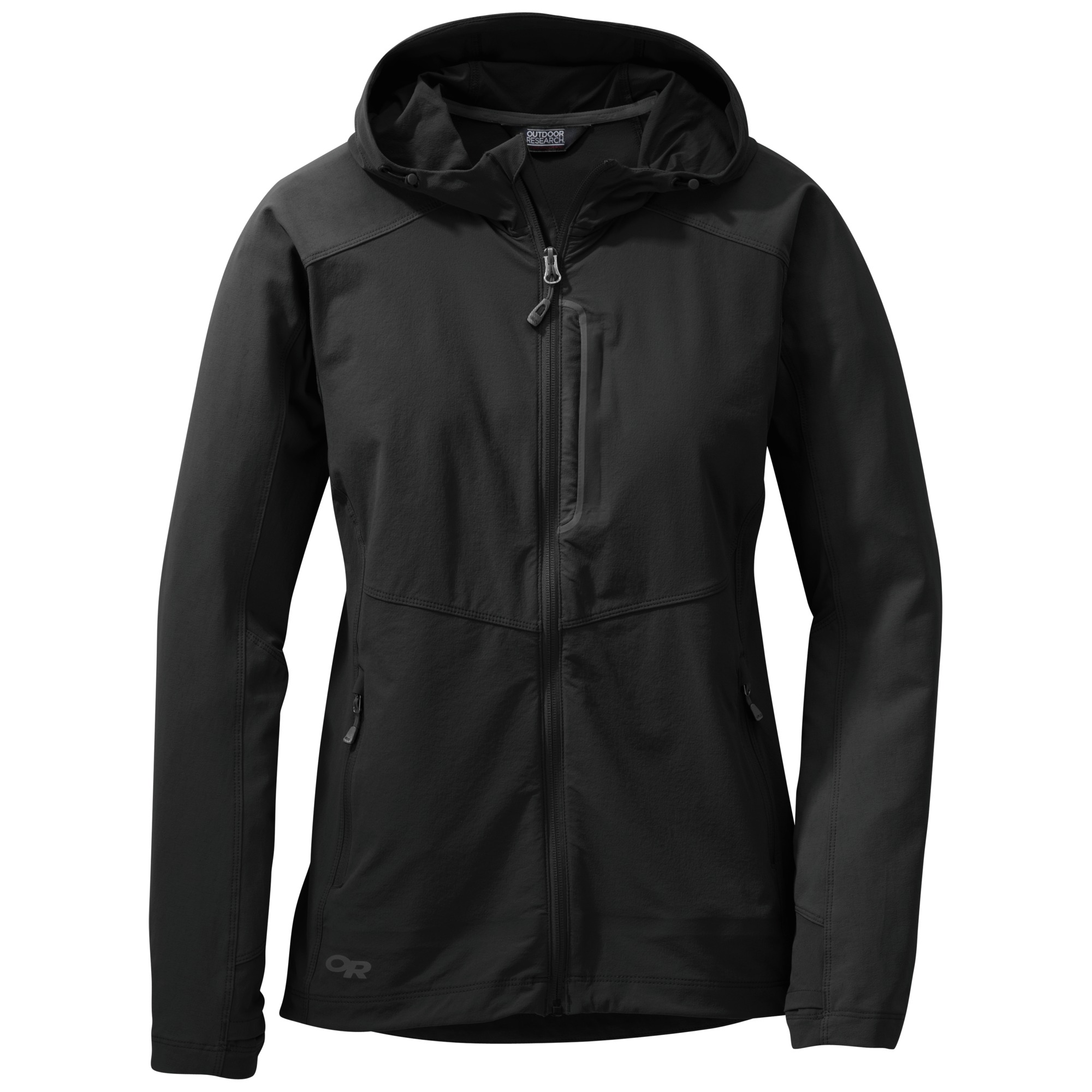 Outdoor Research Women's Ferrosi Hooded Jacket-black-XS - Gr. XS