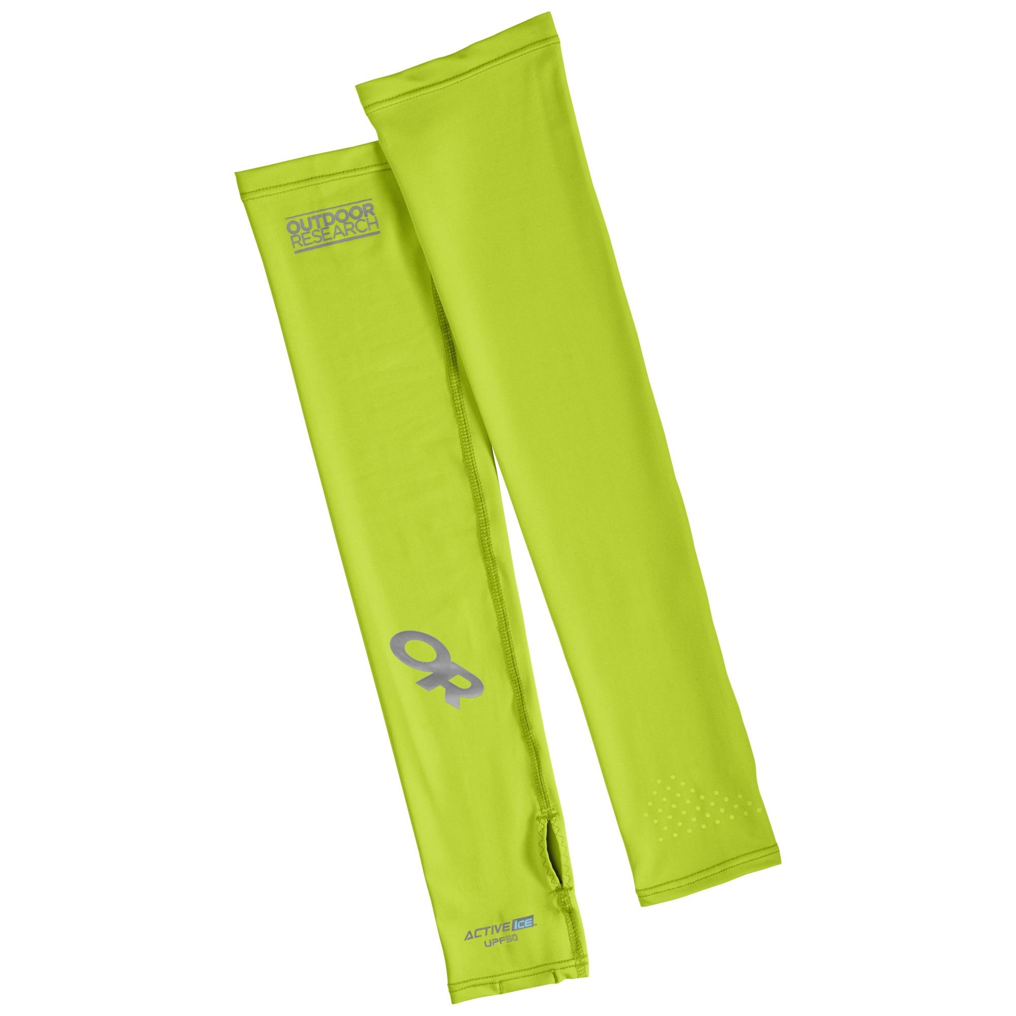 Outdoor Research ActiveIce Sun Sleeves-lemongrass-L/XL - Gr. L/XL