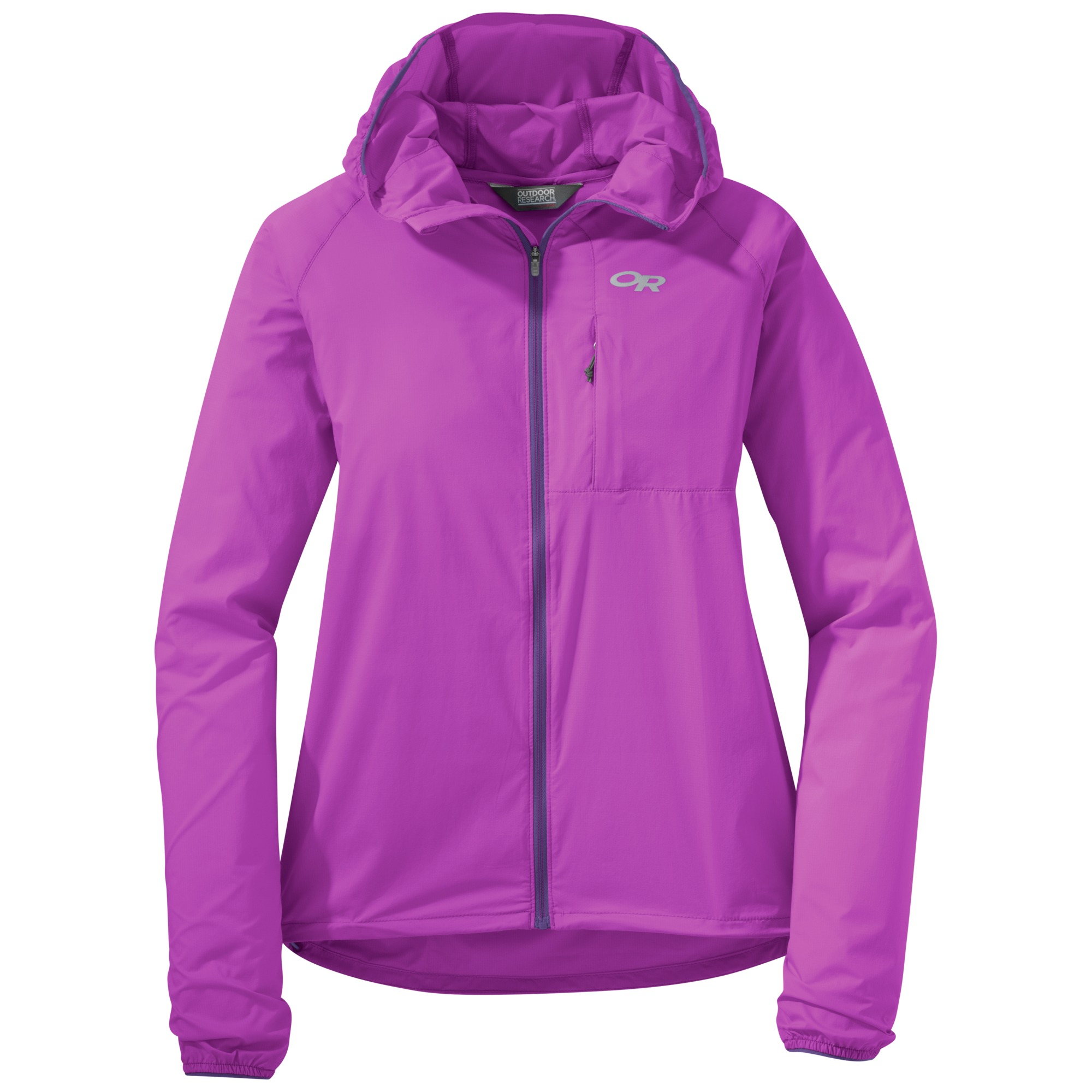 Outdoor Research Women's Tantrum II Hooded Jacket-ultraviolet/purple rain-S - Gr