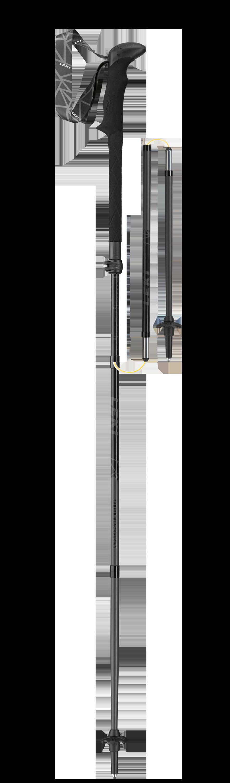 Leki Black Series MVC - schwarz-naturcarbon-neongrün 6492900