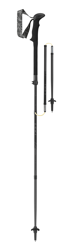 Leki Black Series MVC - schwarz-naturcarbon-neongrün - 110 - 130 cm 6492900