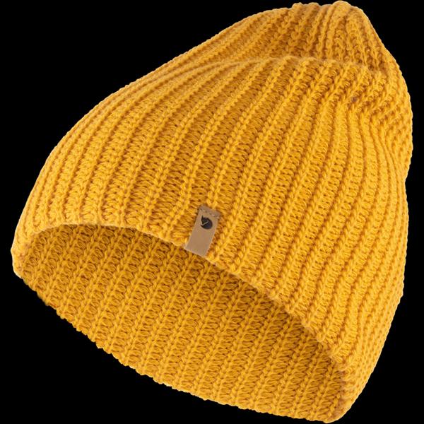 FjällRäven Övik Melange Beanie - Mustard Yellow - 1 Size 77261-161