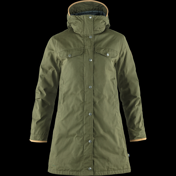 FjällRäven Greenland No. 1 Down Parka W - Laurel Green - S 87013-625