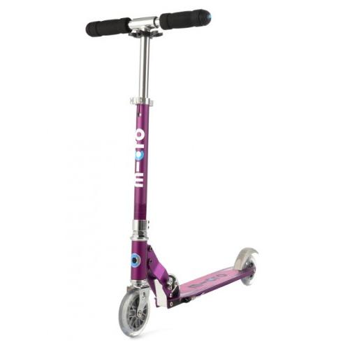 Micro Scooter sprite - lila metallic mit Streifen SA0137