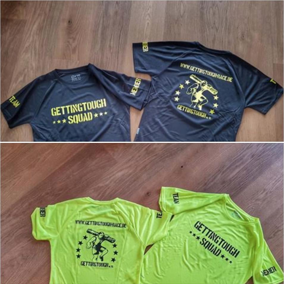 Gutschein GT Shirt 2017 (gelb + schwarz)-S - Gr. S