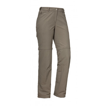 Schöffel Pants Santa Fe Zip Off - brindle, 22