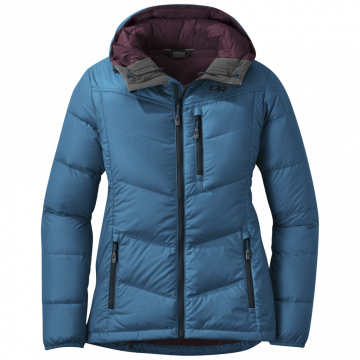 Outdoor Research Women's Transcendent Down Hoody - celestial blue - M