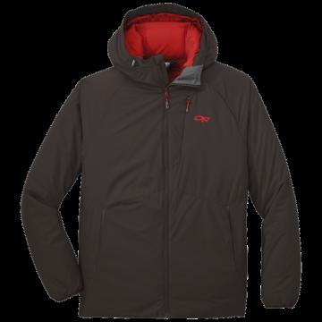 Outdoor Research Men's Refuge Hooded Jacket - dark roast - S