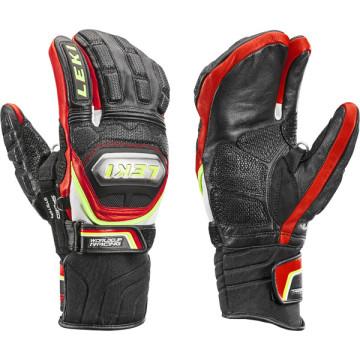 Leki - HS Worldcup Race TI S Lobster Speed Sys. - schwarz-rot-weiß-gelb