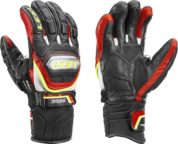 Leki - HS Worldcup Race TI S Speed System - schwarz-rot-weiß-gelb