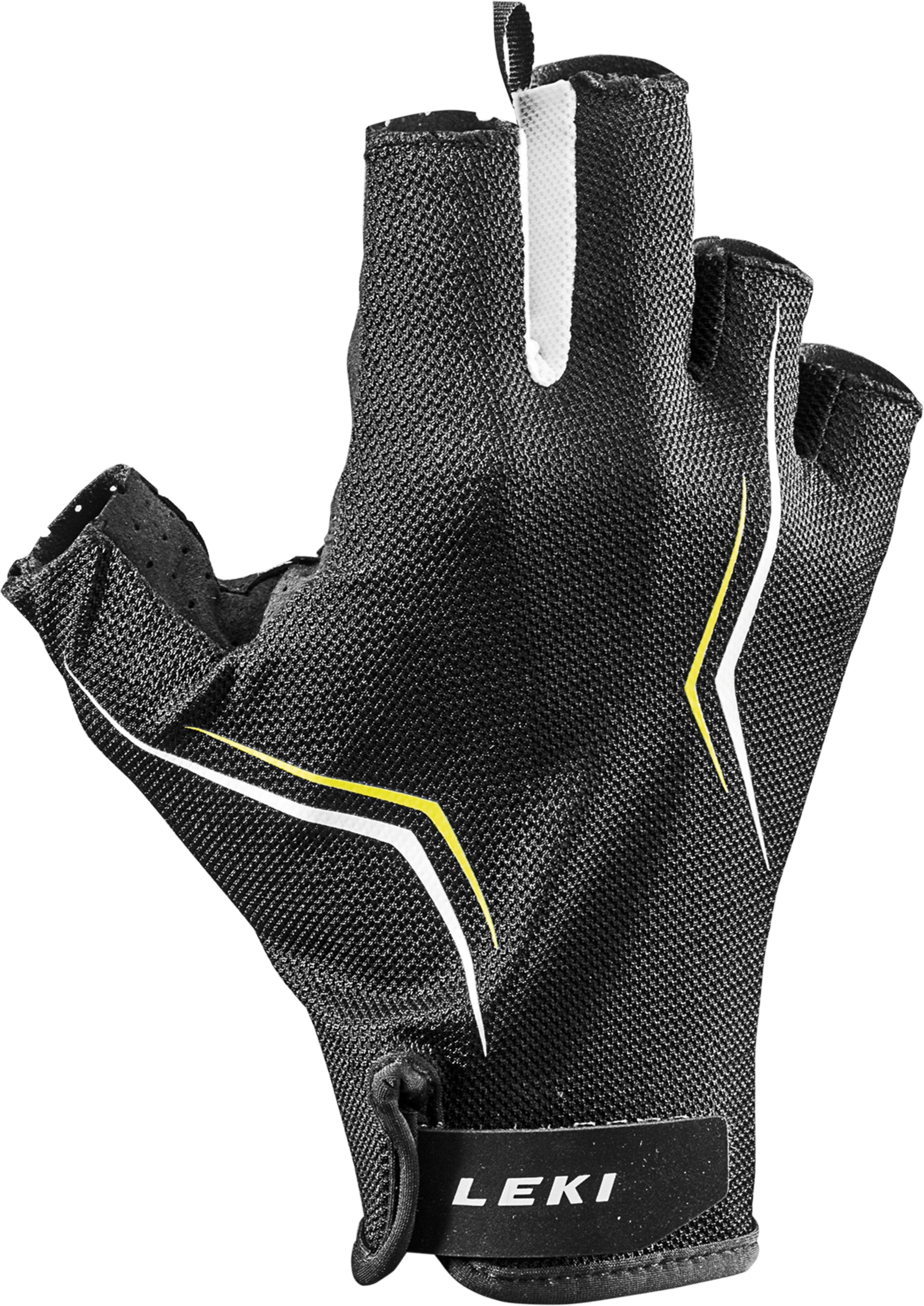 Leki - HS Multi Lite Short – schwarz-weiß-gelb