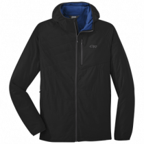 Outdoor Research Men's Refuge Air Hooded Jacket - black - XL