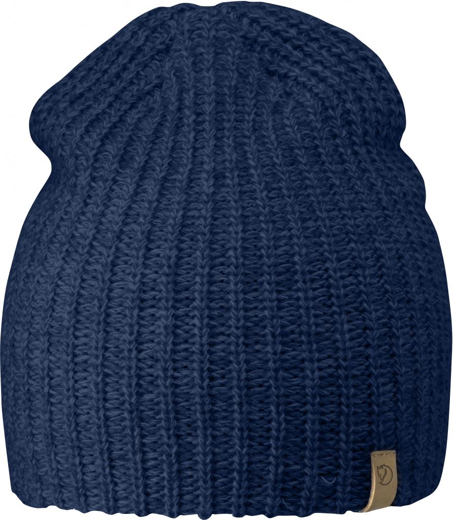 Fjällräven Övik Melange Beanie - Blueberry - 1 Size - blueberry 77261