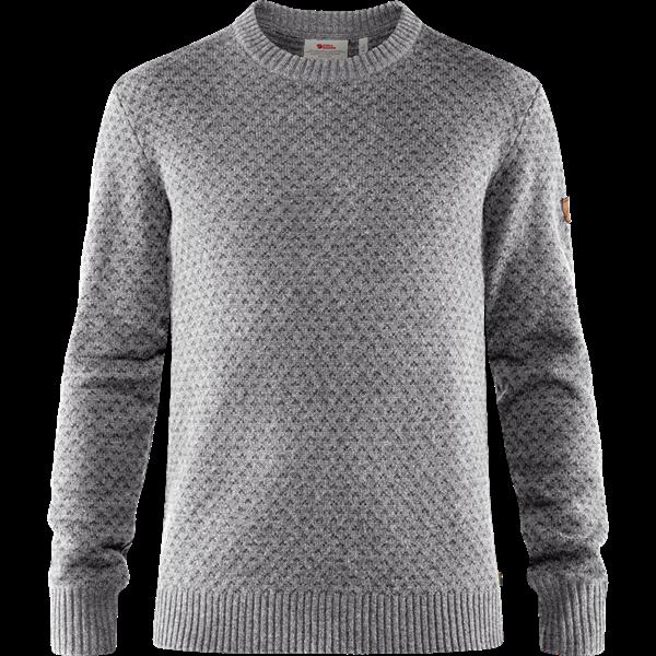 Fjällräven Övik Nordic Sweater M - Grey - XS - grey 82020