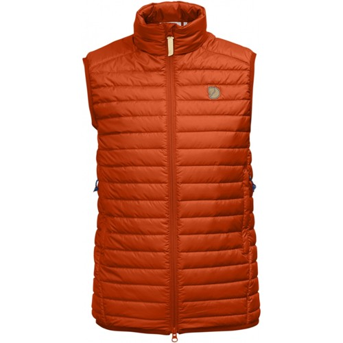 Fjällräven Abisko Padded Vest W - Flame Orange - XXS - flame orange