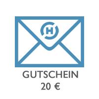 Gutschein 20 € GUTSCHEIN-20