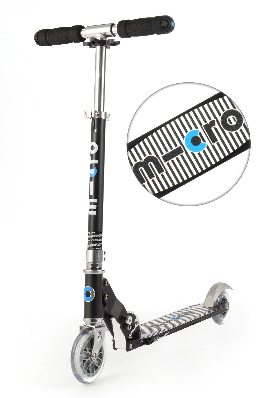 Micro Scooter sprite - schwarz mit Streifen SA0133