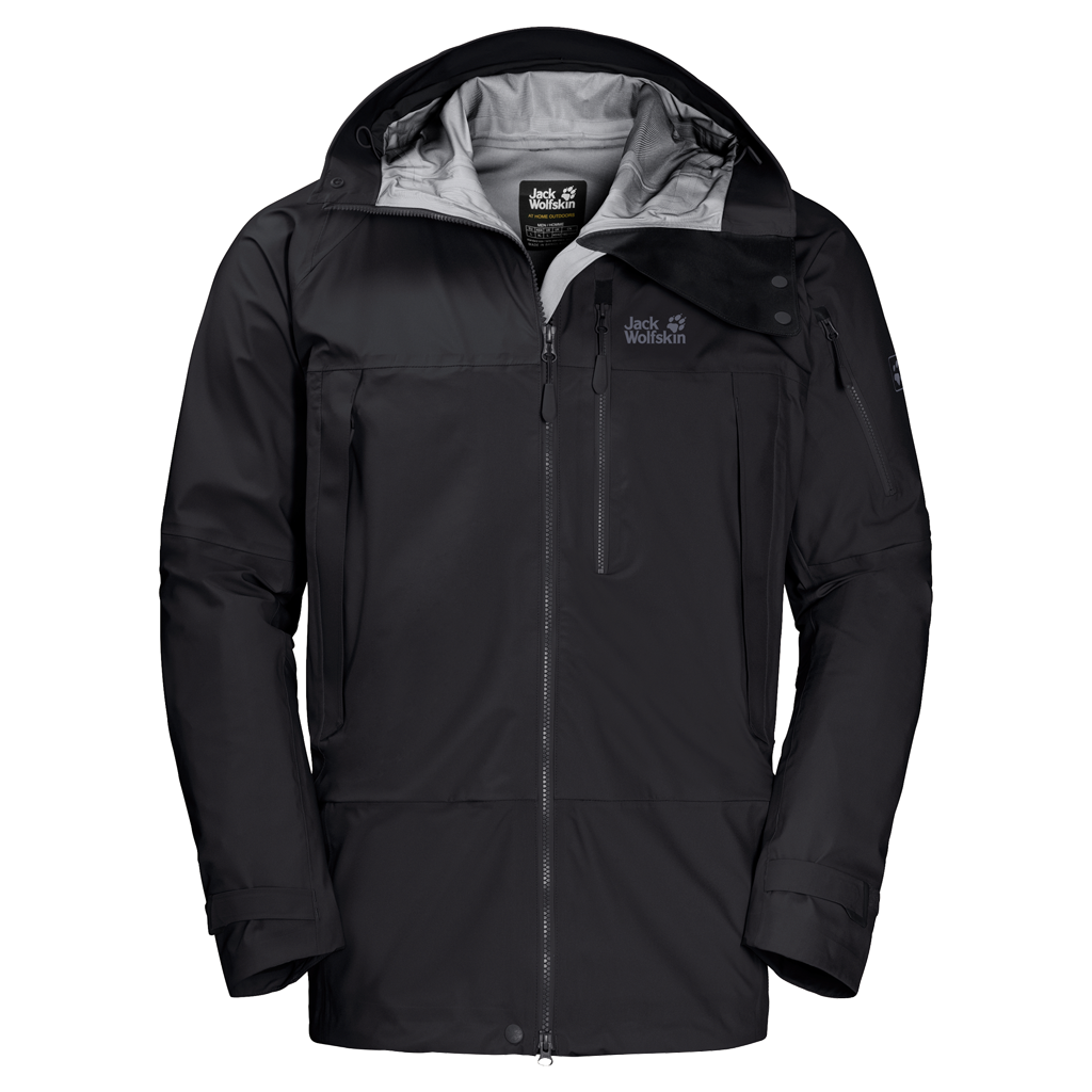 Jack Wolfskin THE HUMBOLDT JACKETTHE HUMBOLDT JACKET - black - XXL 1109031-6000