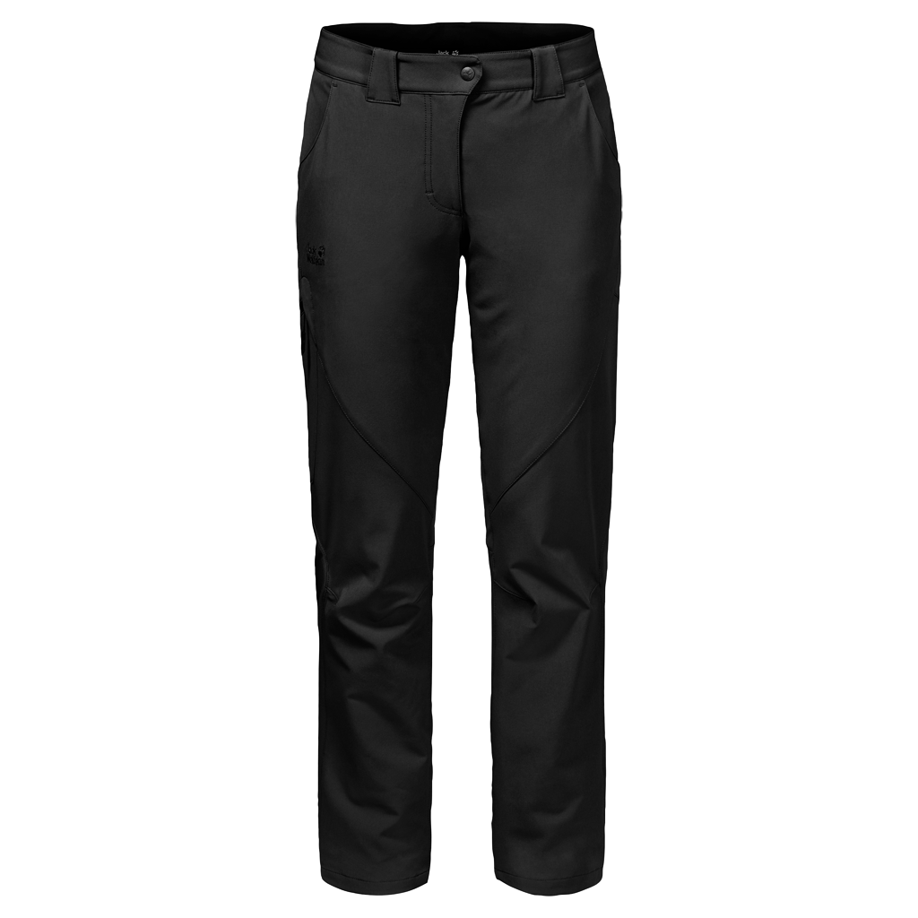 Jack Wolfskin CHILLY TRACK XT PANTS WOMENCHILLY TRACK XT PANTS WOMEN - black - 3