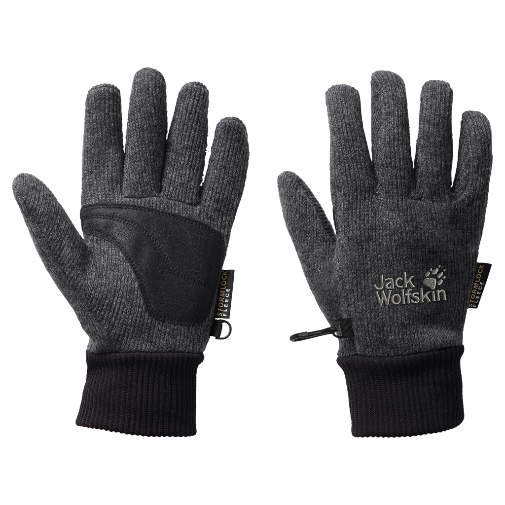Jack Wolfskin STORMLOCK KNIT GLOVESTORMLOCK KNIT GLOVE - phantom - L