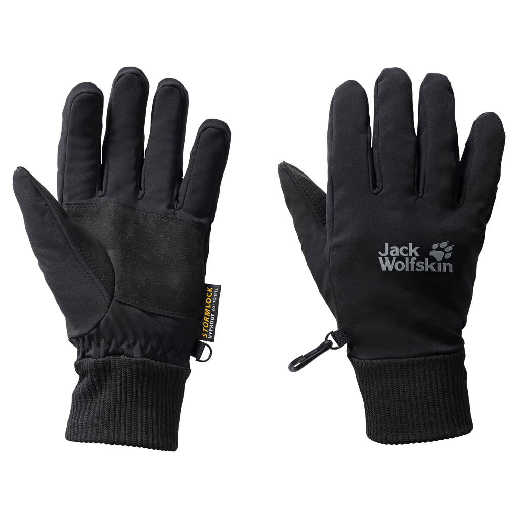 Jack Wolfskin STORMLOCK SUPERSONIC XT GLOVESTORMLOCK SUPERSONIC XT GLOVE - black