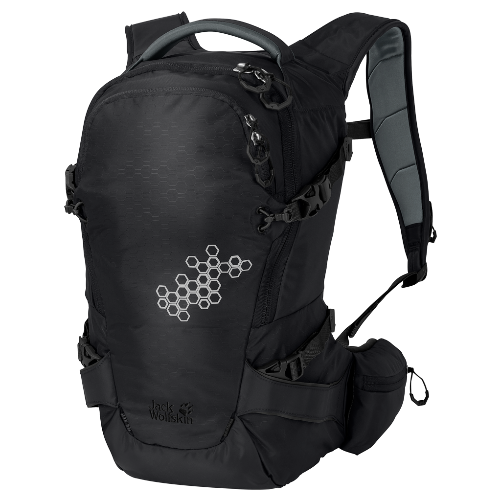 Jack Wolfskin WHITE ROCK 16 PRO PACKWHITE ROCK 16 PRO PACK - black - ONE SIZE