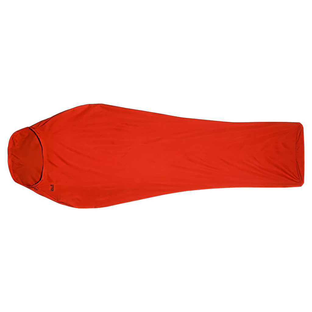Jack Wolfskin STRETCH LINERSTRETCH LINER - lava orange - ONE SIZE