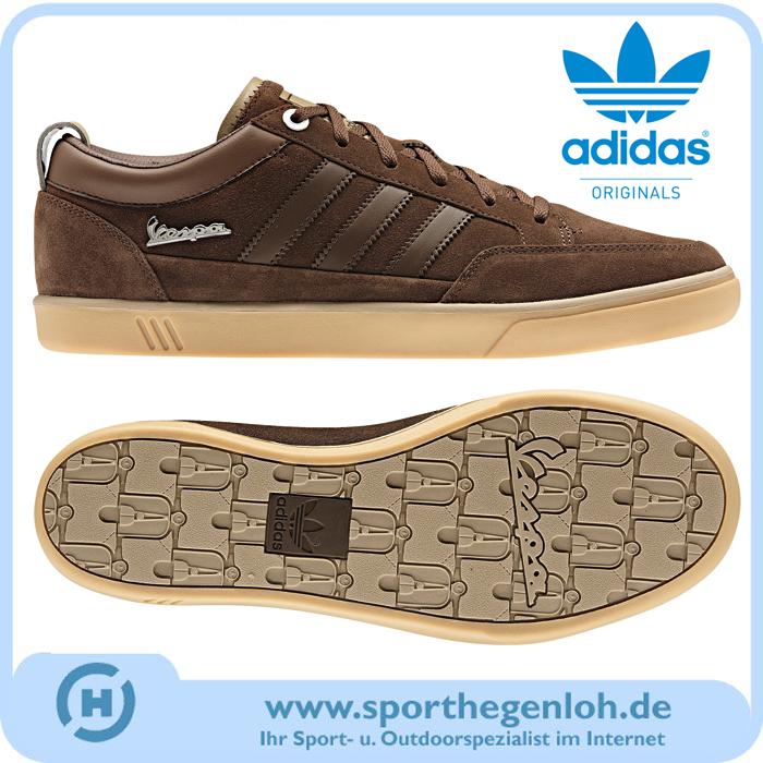 Das Bild wird geladen Adidas-Vespa-PK-Lo-Originals-Sneaker-Schuhe- Freizeitschuhe